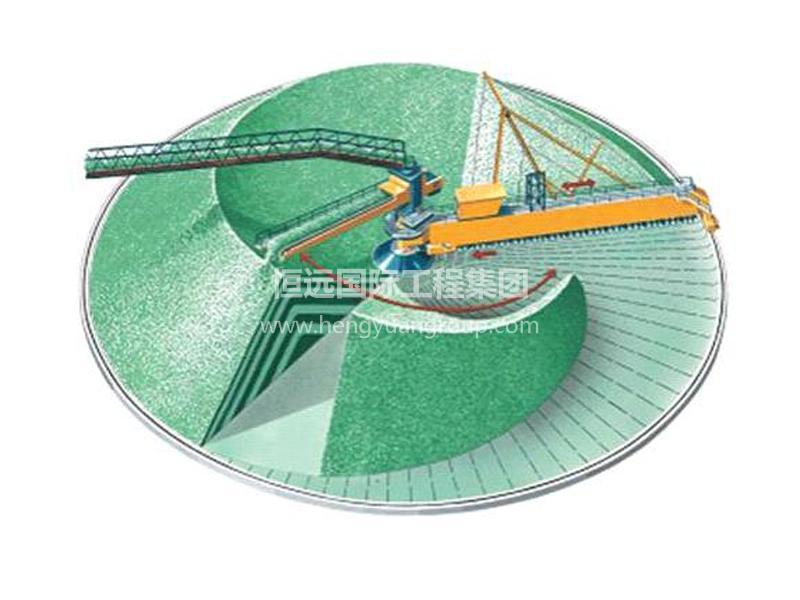 HYCSR圆形堆取料机