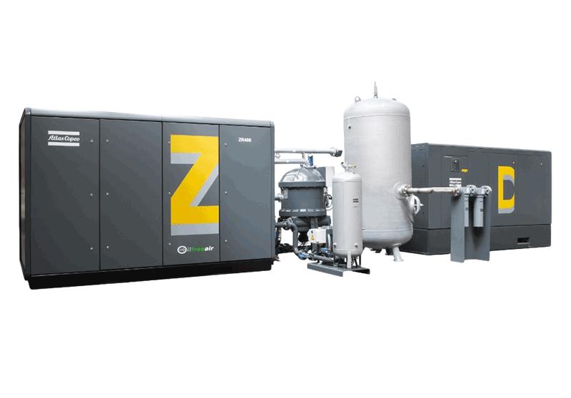 ZD 高壓螺桿空壓機