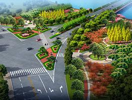 道路景观及城市开放空间