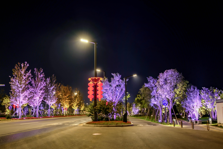 北京通州通济路智慧合杆