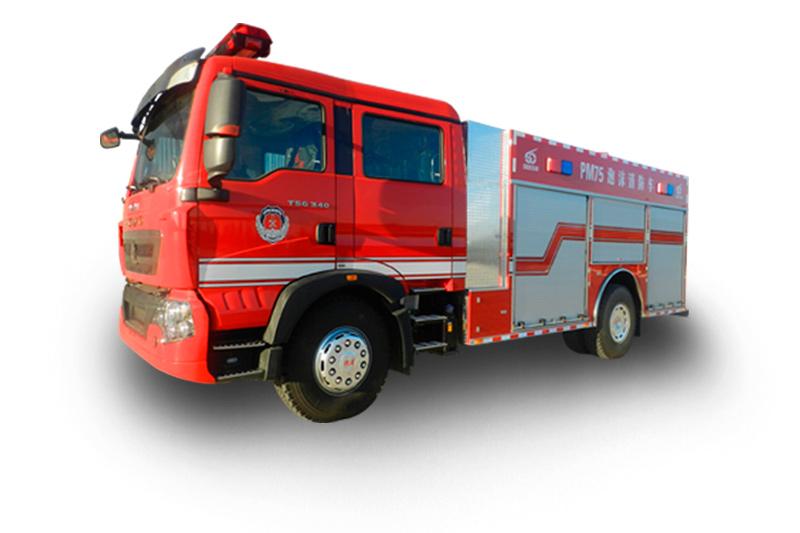 PM75多功能水罐泡沫消防車