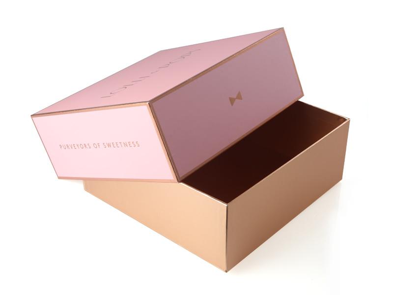 厂家直销 化妆品盒子 天地盖礼品包装盒子 化妆品套装礼盒定做