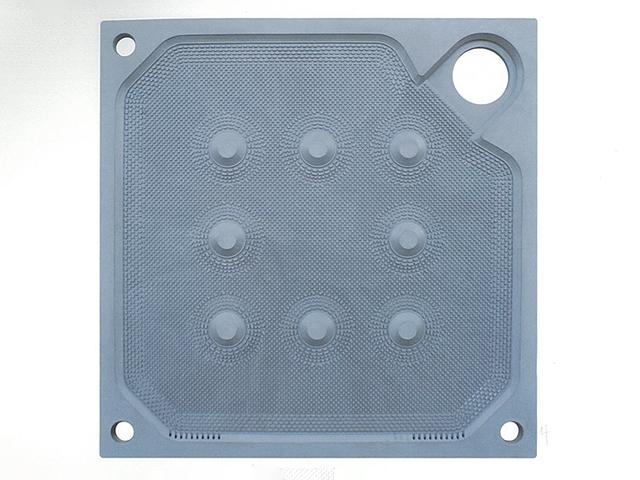 1250型角進料聚丙烯廂式濾板