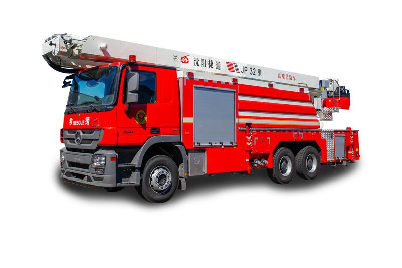 JP32型舉高噴射消防車