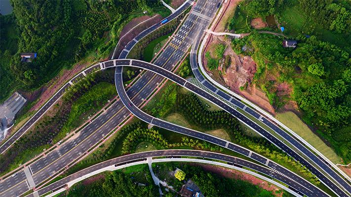 工程監理-瀘州空港路工程