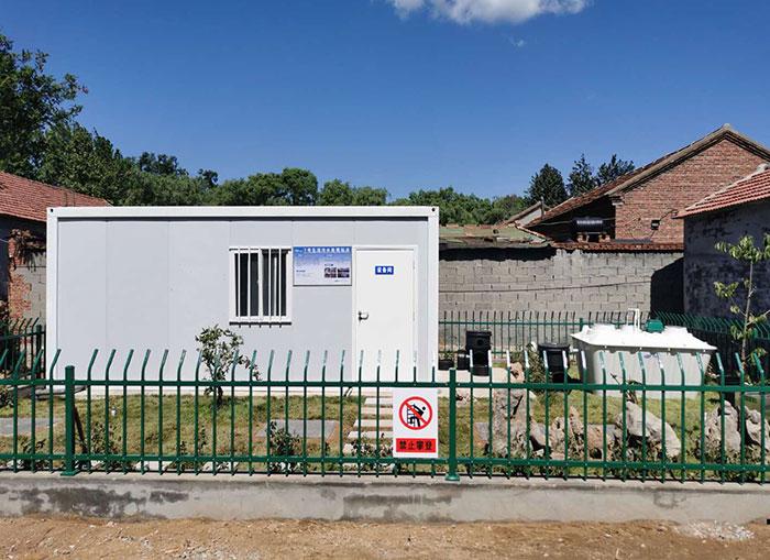 山東鄉村生活污水處理一體化設備