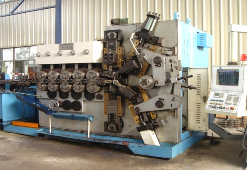 CNC进口悬架弹簧冷成型设备