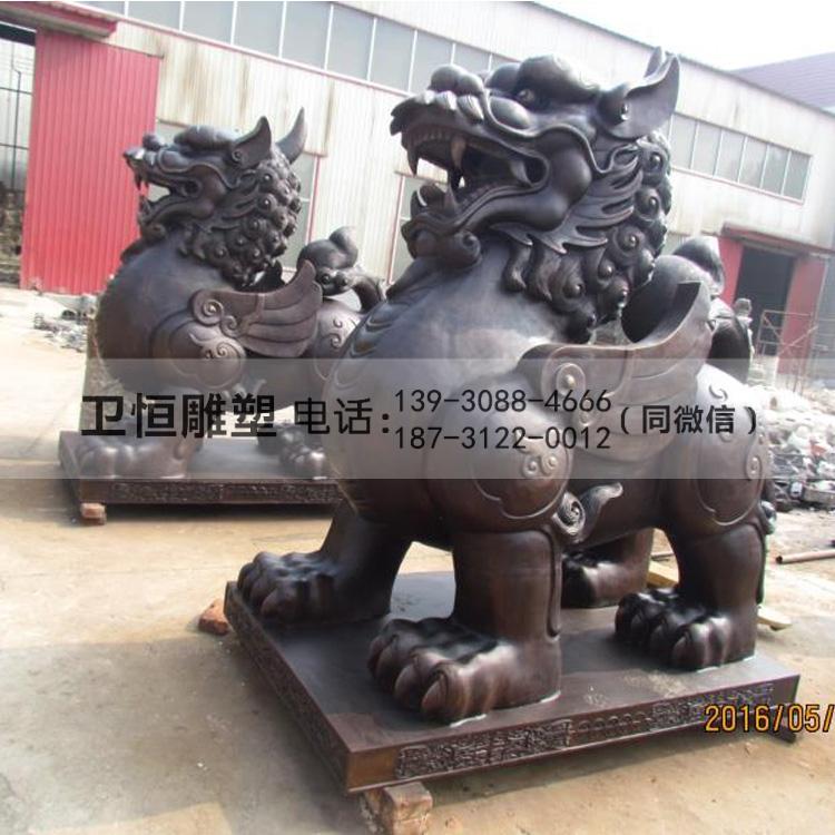 铜貔貅雕塑