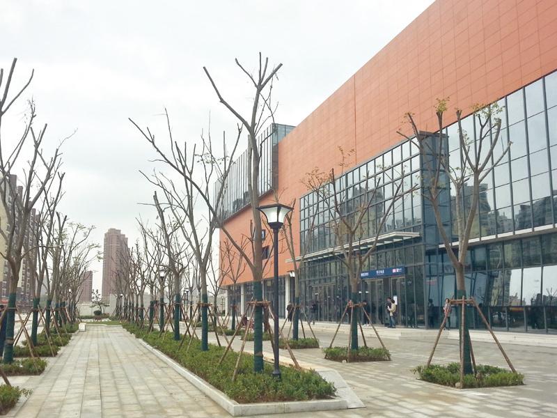 武漢軌道交通機場線景觀