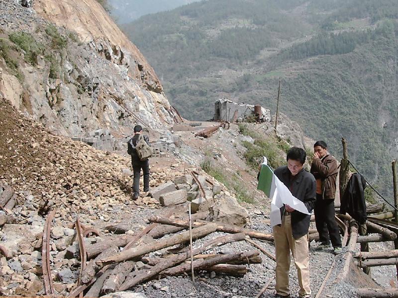 巫溪百步梯煤礦評估