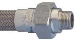 不銹鋼軟管-外螺紋活接不銹鋼軟管—SSG