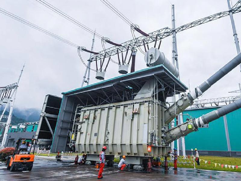 2020年3月,我司為珠海南屏500KV直流換電站特高壓變壓器供應高品質變壓器油產品