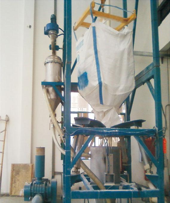 噸包破包機粉體清潔化自動輸送裝置