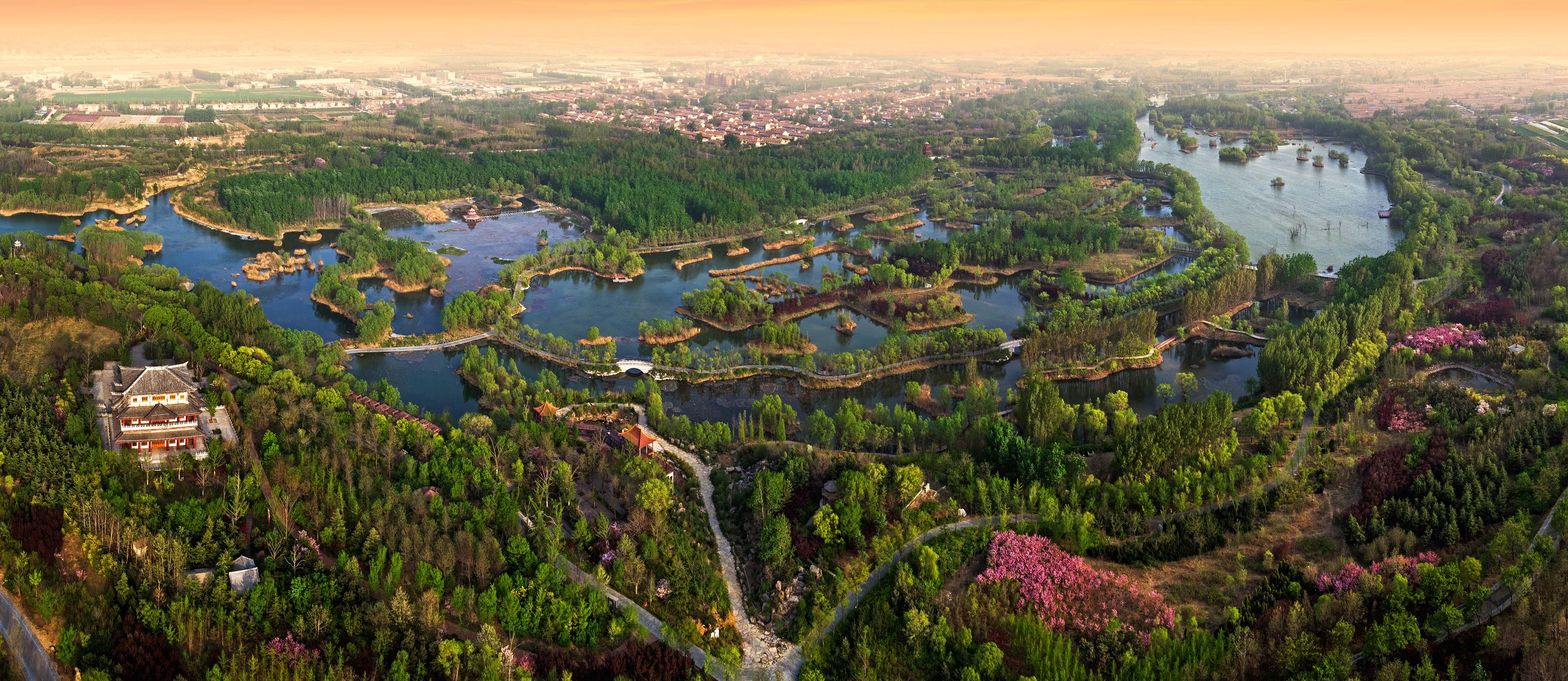 白浪绿洲湿地风景图册